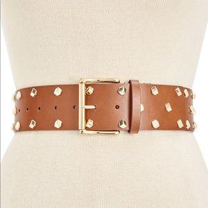 Michael Kors Studded Luggage Belt